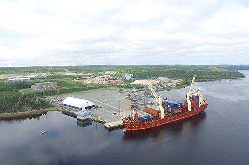 Sheet Harbour Shiploading Terminal